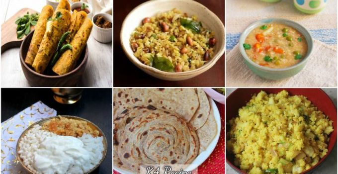 Easy & Healthy Indian Breakfasts - K4 Recipe